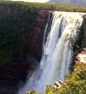 Aponguao Waterfall in the Grand Sabana